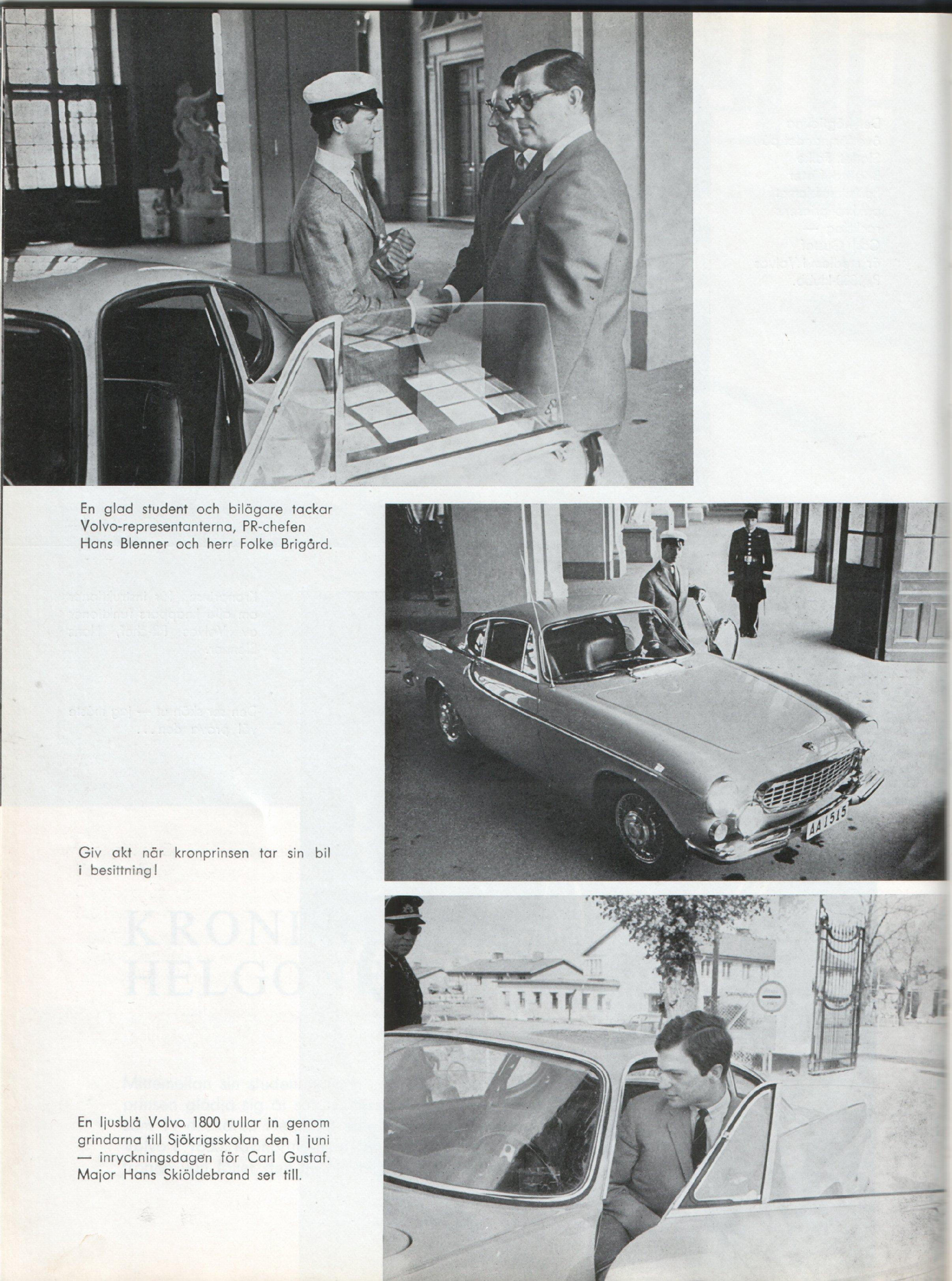 Volvo 1800S 1966