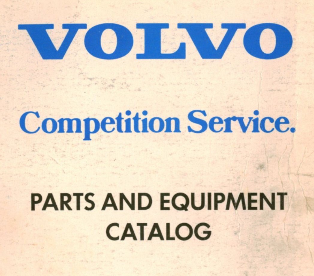 Index Of Document Volvo Competition Service Parts