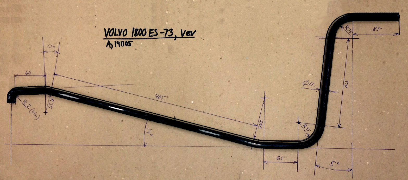Volvo P1800 Documentation Main Page 242 Gt Wiring Diagram Template For Jack Crank Handle Rod
