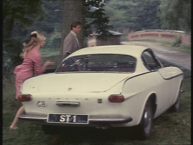 Volvo P1800 In The Tv Series Saint