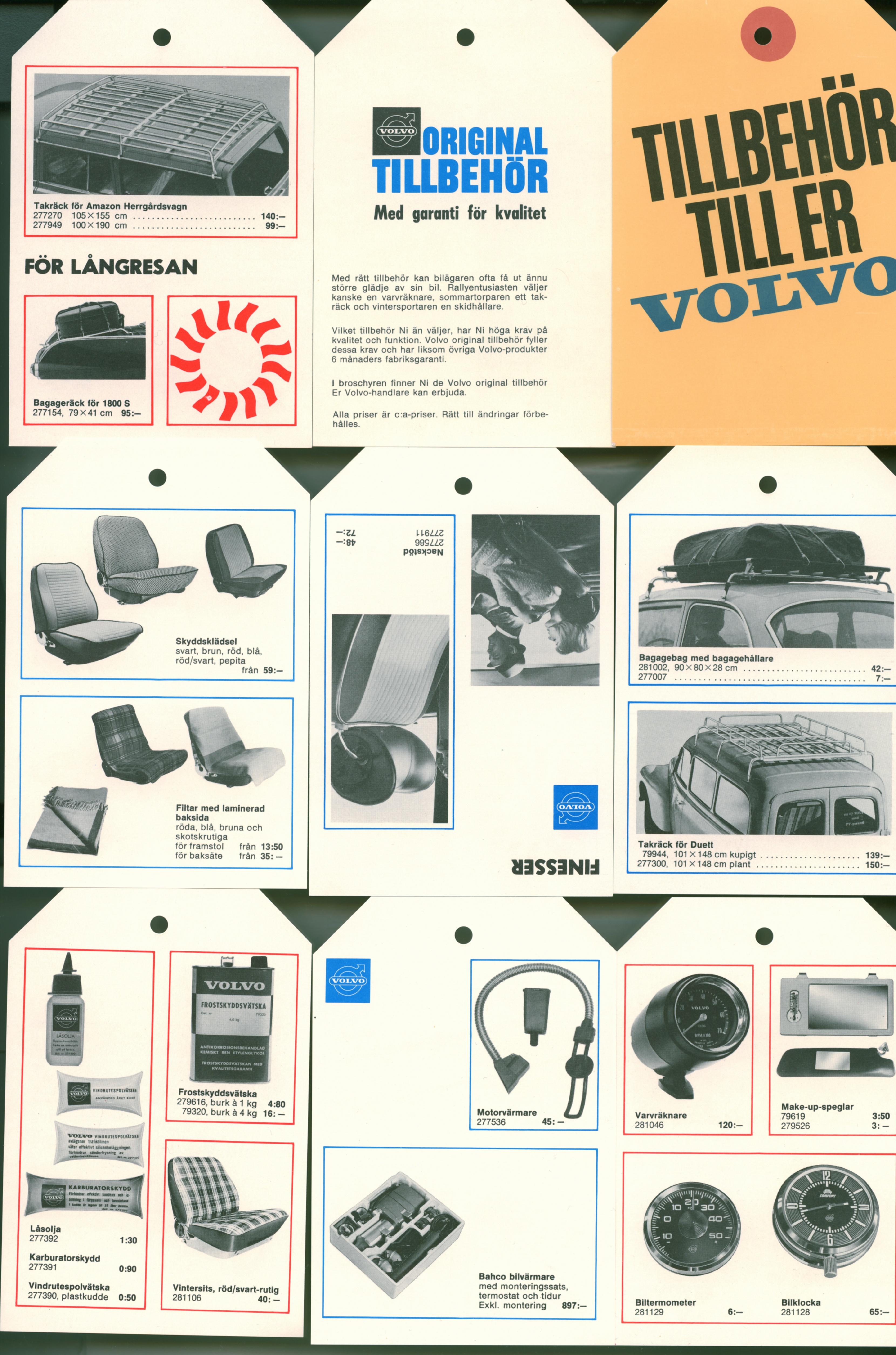 Volvo original tillbehör
